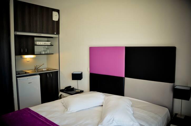Studio lit jumeaux de 20m² à La Baule