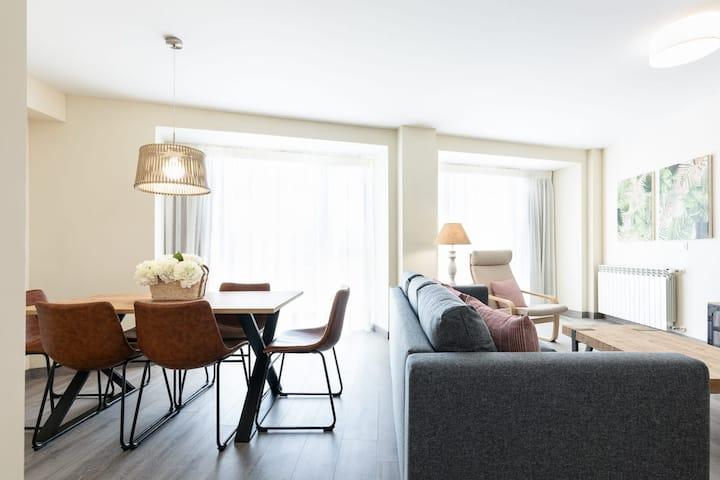 Apartamento dúplex con excepcional solarium
