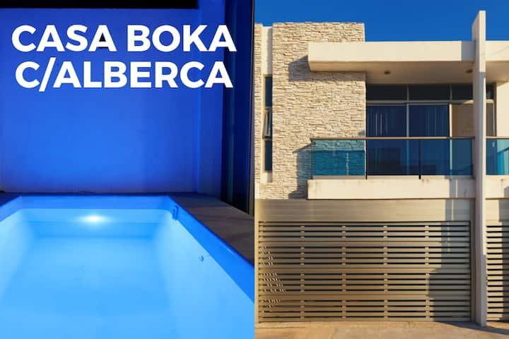 Casa Boka c/Alberca