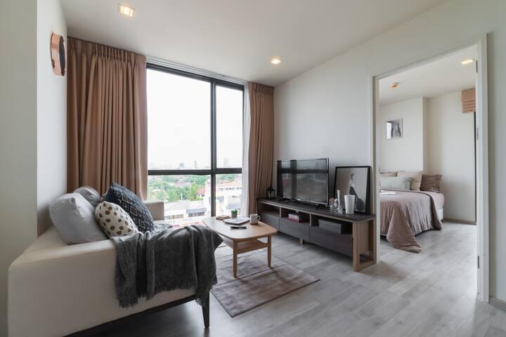 Homie 2Bedrooms, 2-4 person, Ladprao-Wanghin