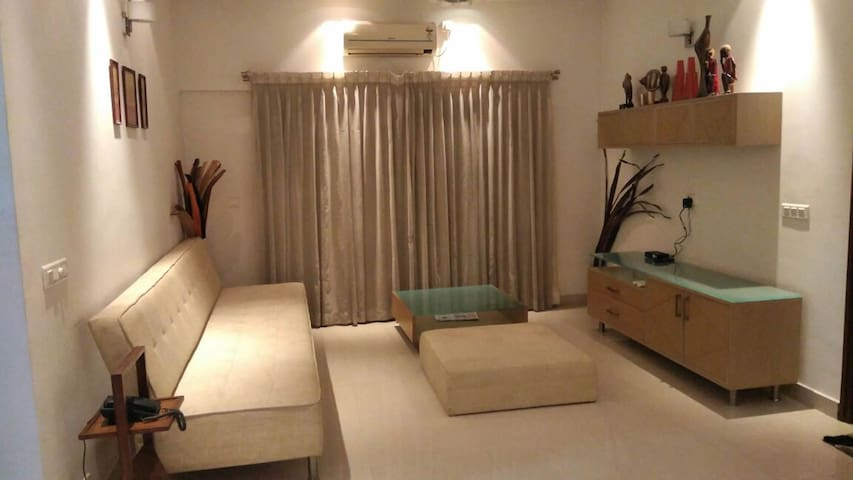 A cozy, Homely & Private stay - 3BHK - Bangalore - Apartamento