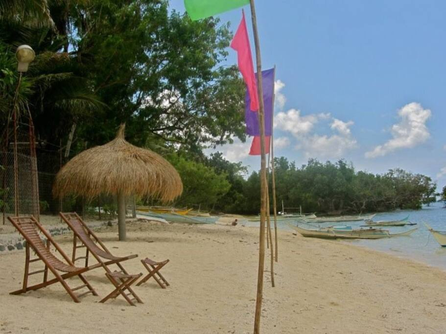 Pristine beach in a quiet side of Looc.