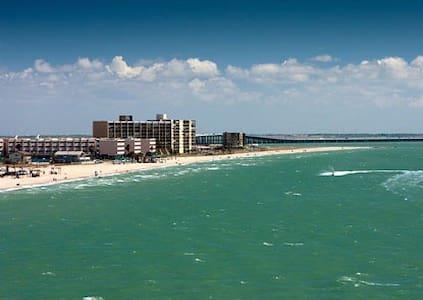 Great Beach Front Gateway - Corpus Christi - 公寓