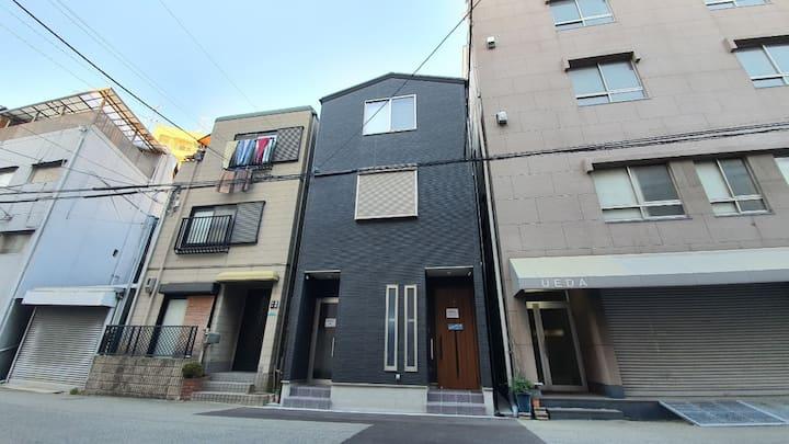 SC1 New House+Rooftop 10ppl max/Namba/Dontonbori