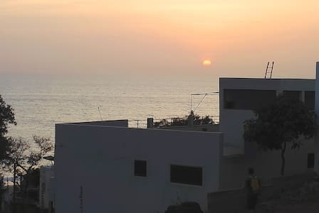 Assaman, Maison spacieuse avec vue sur mer - Toubab Dialao - Haus