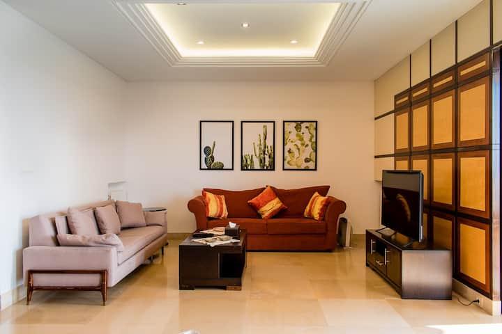 ★ Open-View 2-bedrooms Flat in Naccache