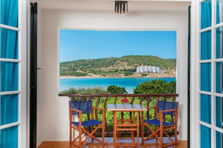 Apartamento familiar con vistas laterales al mar