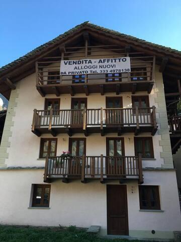 CAMPERTOGNO(VC) A 10 MIN. DA ALAGNA - Campertogno - Apartment