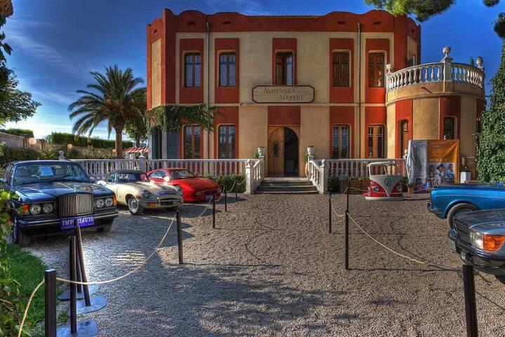 Hotel Monumento Almenara de Copau vistas al jardín