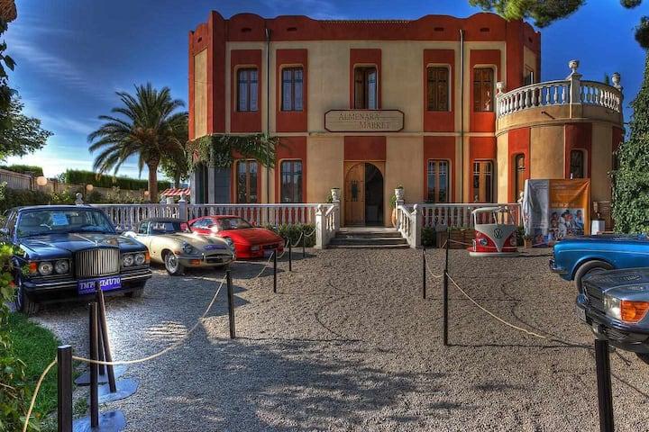 Alojamiento boutique Almenara de Copau con jardín