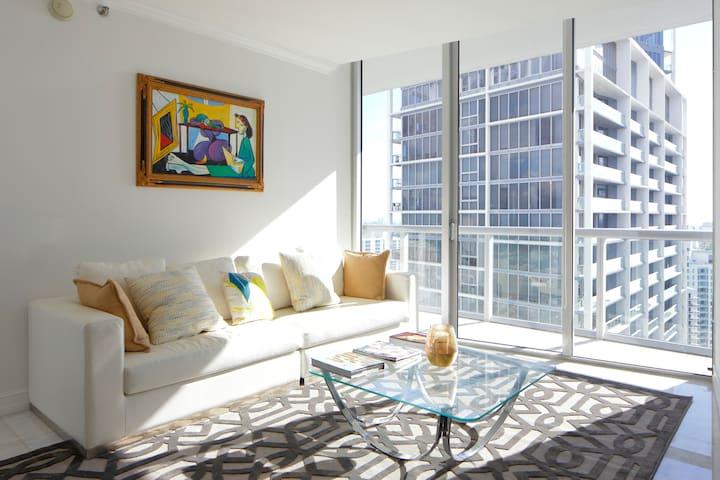 W Hotel Icon Brickell Luxury! - Miami - Apartment