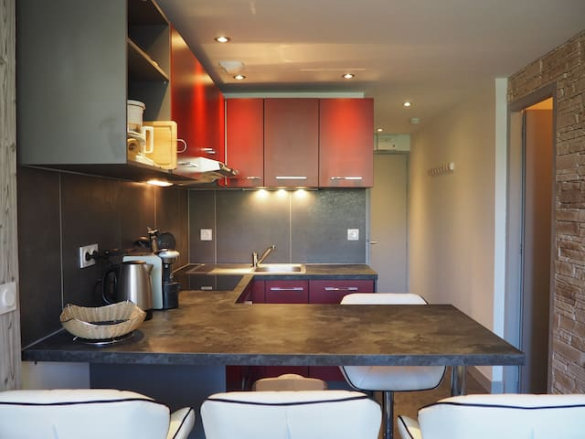 Apartment of 27m² with a bedroom