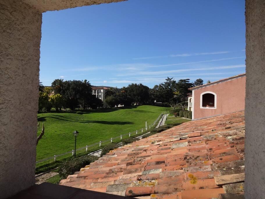 Vue latérale de la Terrasse