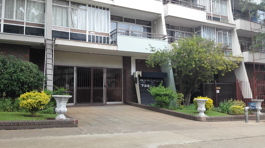 Well located apartment in the heart of Pretoria