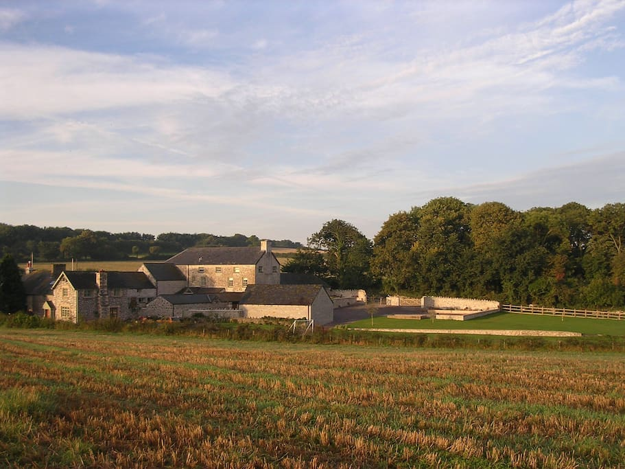 Church Farm is set magnificent countryside close to the famous market town of Cowbridge