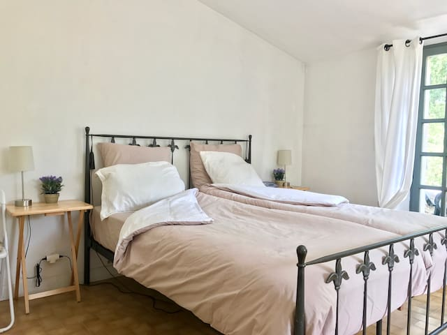 Private bedroom with bathroom, kitchenette&terrace