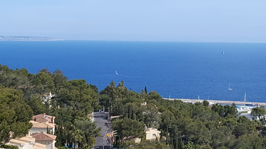 Amazing appartment with sea views and pool - Calvià - Apartamento