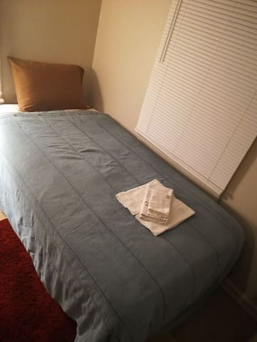 Circle City small bedroom with smoking permitted