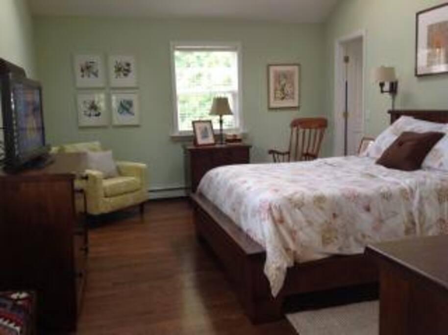Master Bedroom w/ walk -in Closet and en-suite