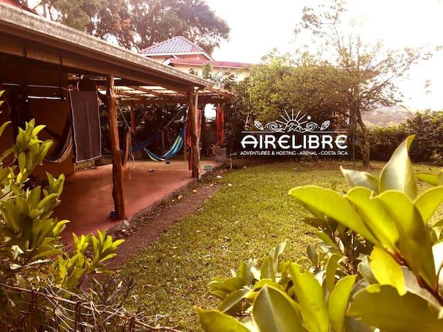 Beautiful lodging in Lake Arenal , Nuevo Arenal