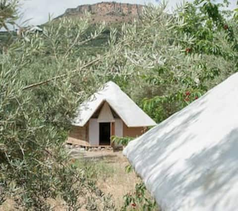African Hut in between Granada and Cordoba
