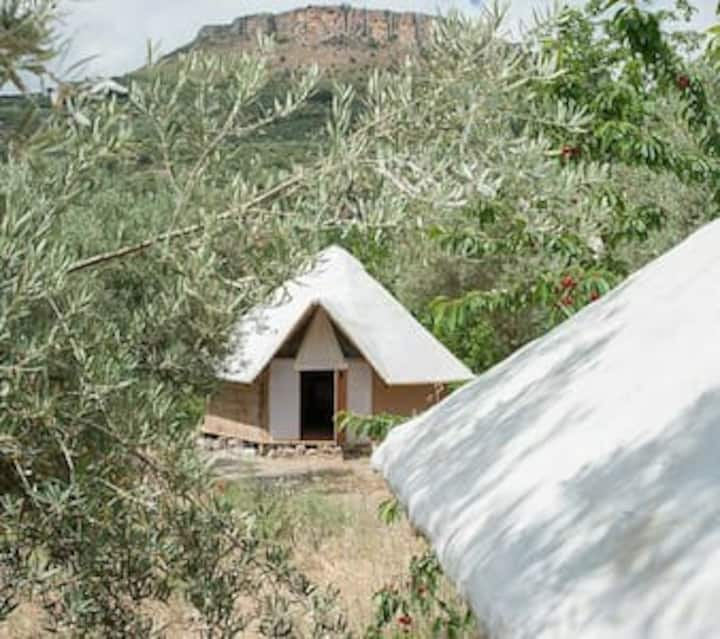 African Hut in between Granada and Cordoba