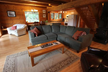 Christian Valley Log House - Westbridge - Guesthouse