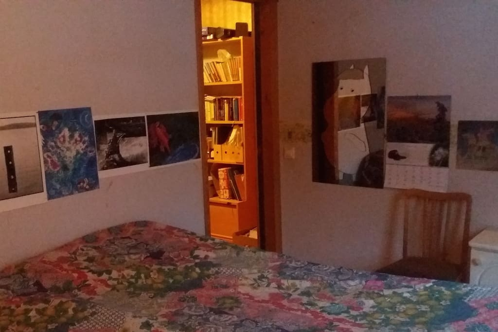 The room itself.