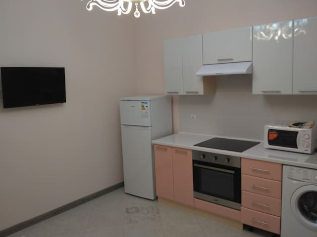 Spacious clean apartment in new building