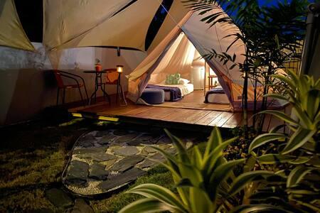 Shalom Glamping  manera única de acampar con lujos