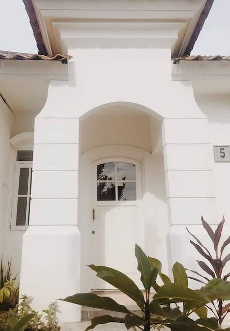 Front house.