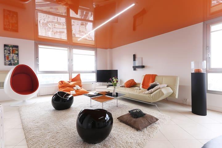 Vue exceptionnelle sur tout Paris - Puteaux - Apartment