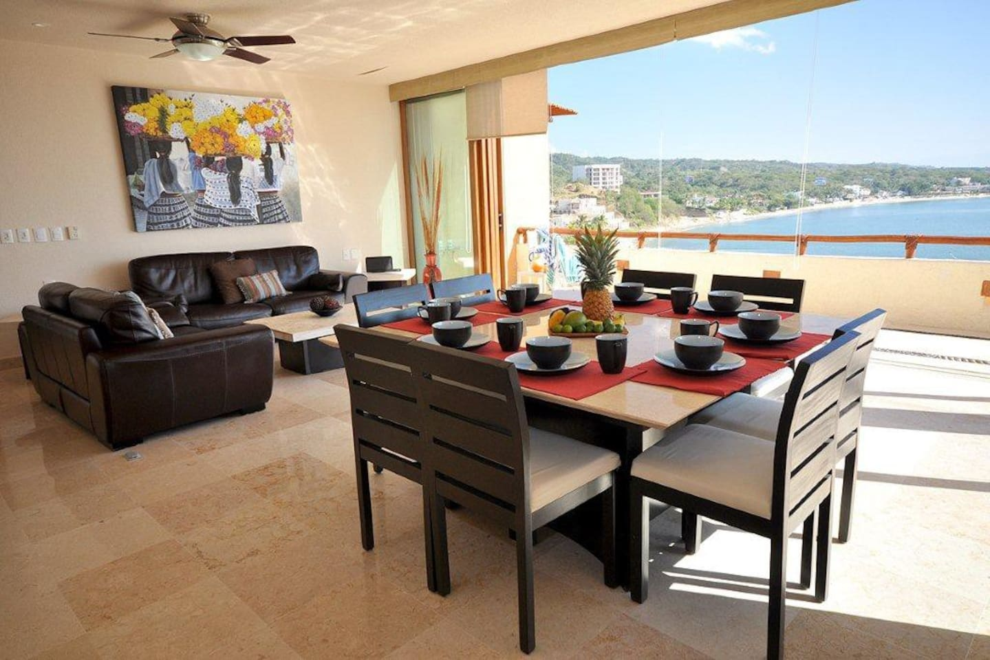 Living / Dining & View