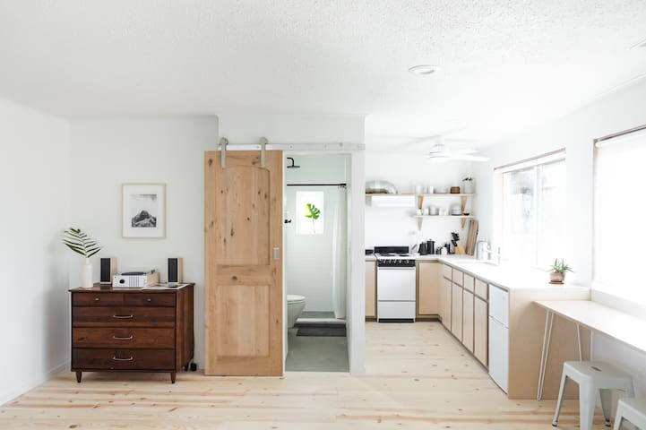 Bright and Welcoming Studio in Portland