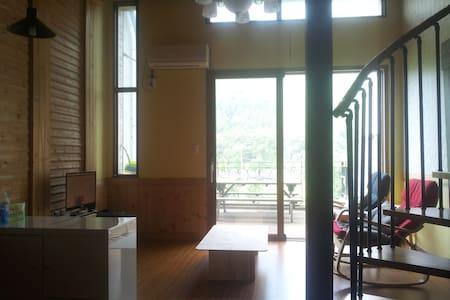 전망좋은 복층형숙소이고 넗은 테라스가 있는 숙소입니다. - Yongmun-myeon, Yangpyeong