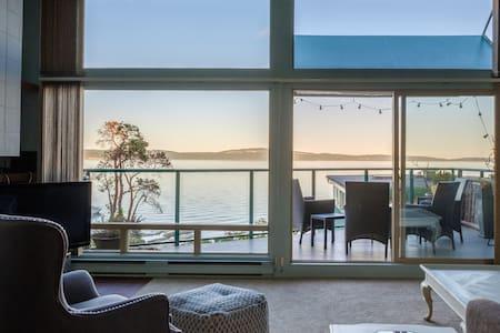 Ocean View Countryside Condo on Vancouver Island