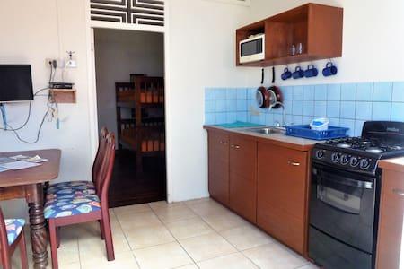 Miller's mixed dorm apartment