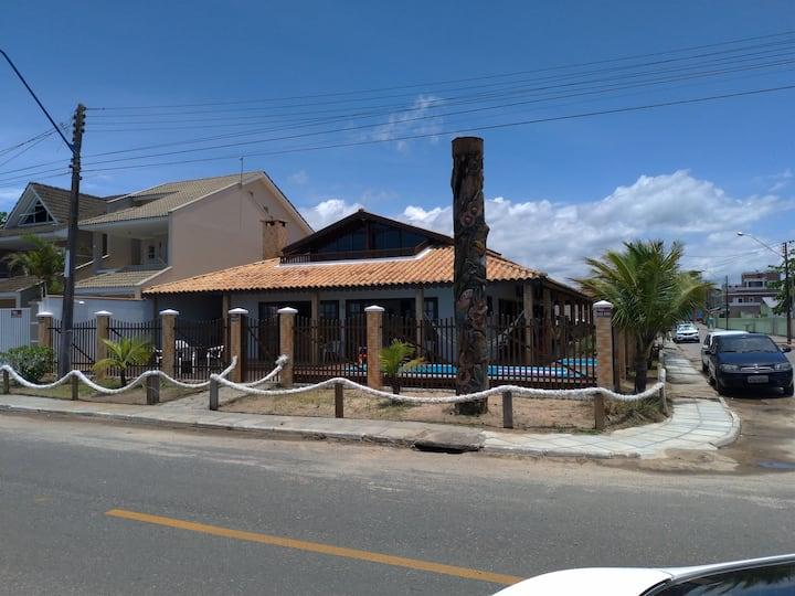 Maravilhosa Casa de frente ao mar para 30 pessoas!