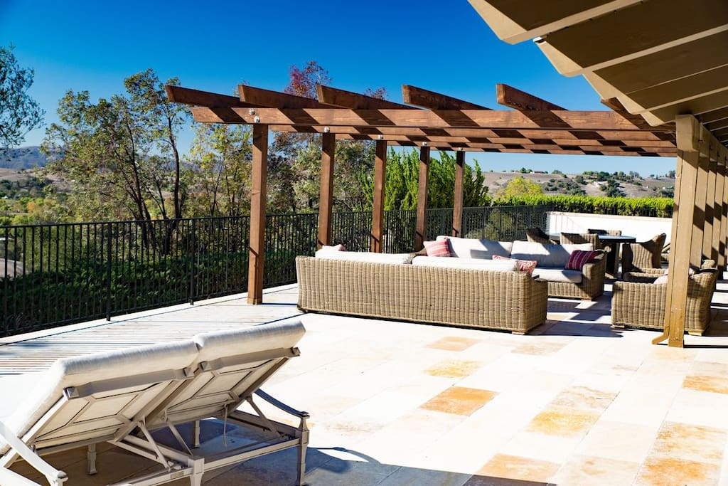 Relax on the 5,000 sq. ft. wraparound deck