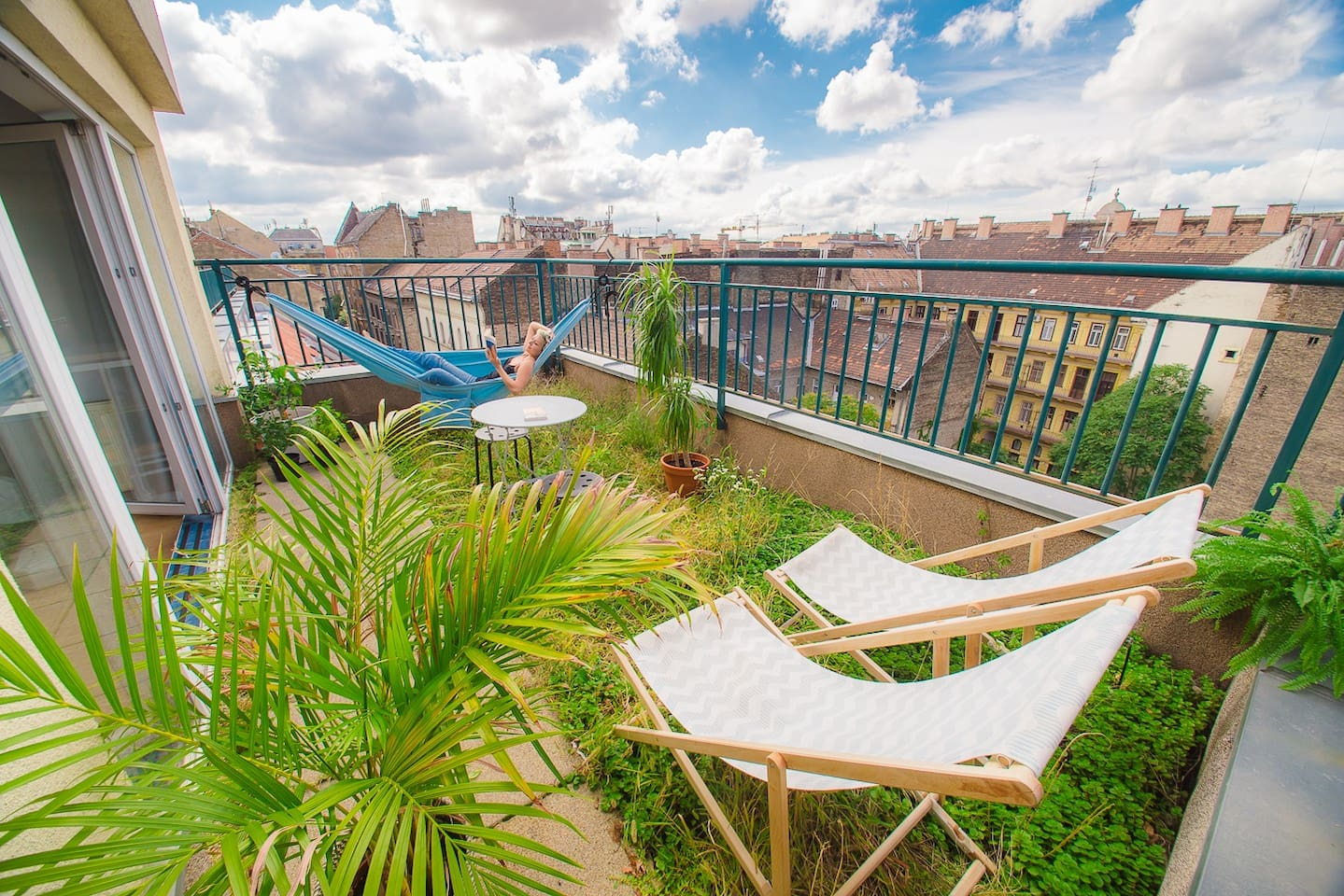First private terrace