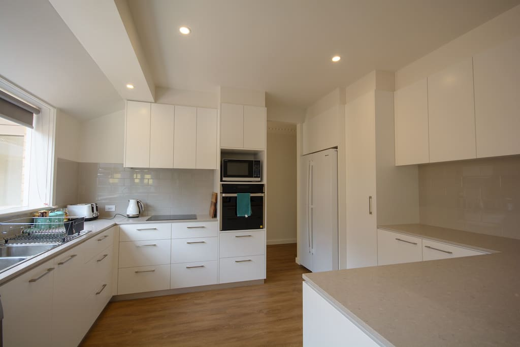 Fully featured kitchen