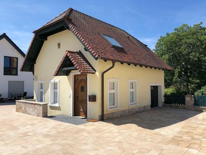 Einzelzimmer mit Bad +Terrasse Gästehaus Witteborg