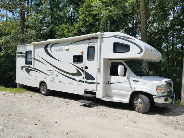 Nice, Clean Upgraded RV for Stationary Rent