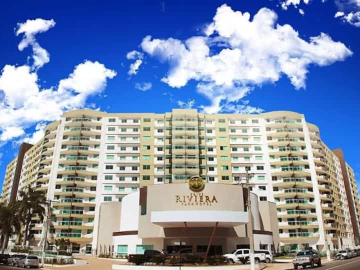 Flat Caldas Novas - Hotel Riviera Park