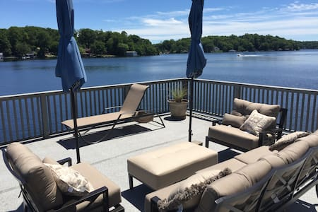 Leisure Lake Lodge is the Premier Lakeside Rental - Andover - Ev