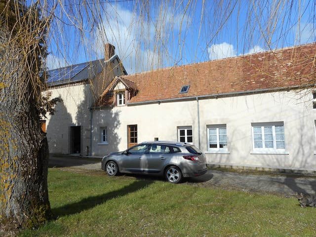 The Cottage + heated pool (shared) - Bures - Hus
