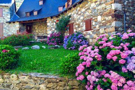 Casa típica aranesa muy acogedora - Garòs - Haus