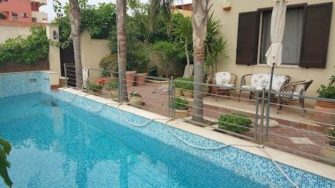"""Casa Vacanze """"Villa Mosč"""" bazen, vrt, parking"""