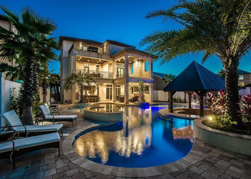 Asap Luxury 8bdrm Gulf View Pool Houses For Rent In