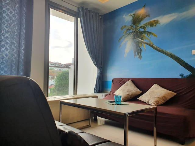 ARCADIA BEACH RESORTRoom 419A  2 Bedroom 6 people